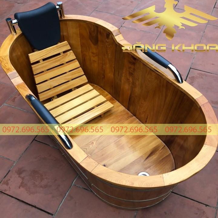 Hình ảnh của Báo giá bồn tắm gỗ Pơ Mu tại Trống Đăng Khoa