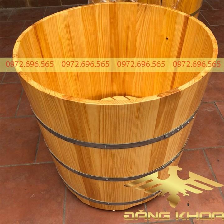 Cách bảo quản bồn tắm gỗ Thông Nhật