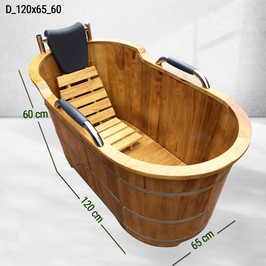 Đôi nét về bồn tắm gỗ sồi